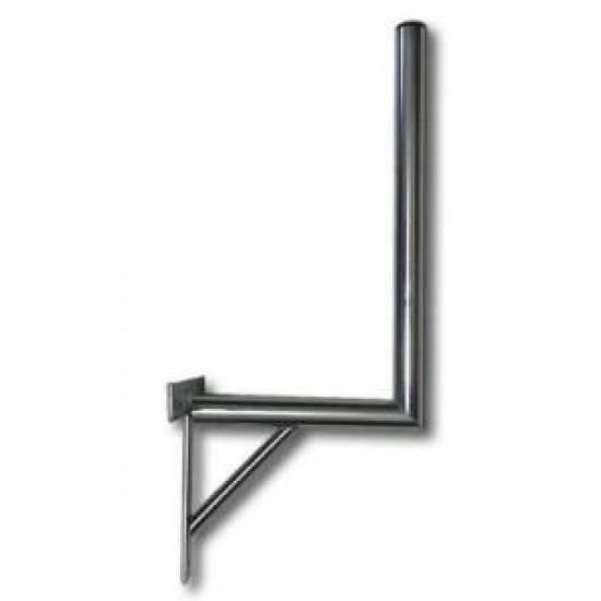 Držák na zeď 35/120 cm se vzpěrou