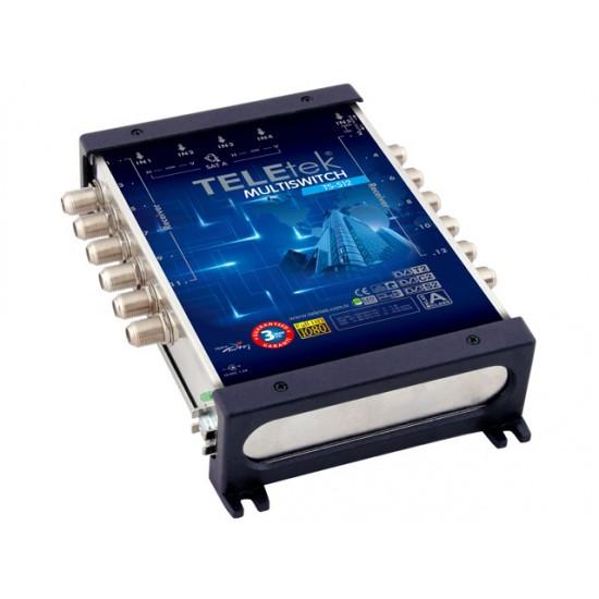 TeleTek multipřepínač 5/12 (MS-512)