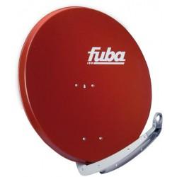 Parabola FUBA 85x85 Al, červená, DAA850
