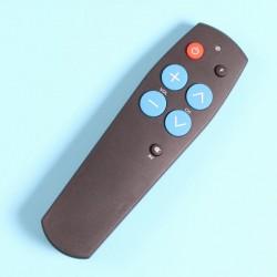 Dálkový ovladač univerzální, 7 tlačítek