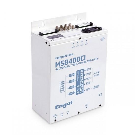 Engel MS8400CI - 4x DVB-S/S2/T/T2/C +CI do 4x DVB-T/C + IPTV