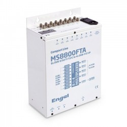 Engel MS8800FTA  - 8x DVB-S/S2/T/T2/C do 4x DVB-T/C + IPTV