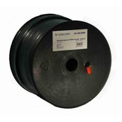 Koaxiální kabel Zircon CCS 125 ALPE, černý, 100m