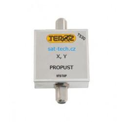 T530, propust pro 2 UHF kanály