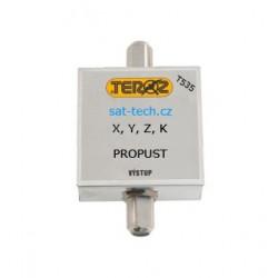 T535, propust pro 3 UHF kanály