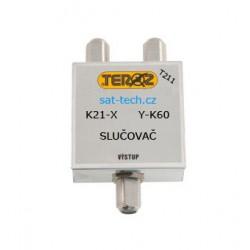 slučovač T211, k21-X + Y-60