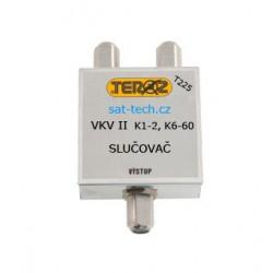 slučovač T225, VKV + k1,2 a k6-60