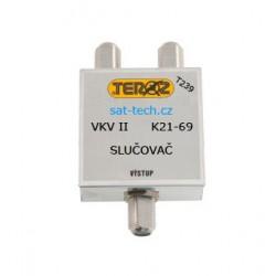 slučovač T239, VKV + k21-69(UHF)