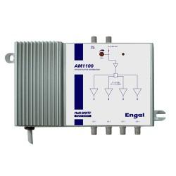 Engel AM1100, výkonový zesilovač, 4x122dB, G12dB