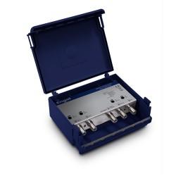 Engel AM6115, stožárový zesilovač, 4 vstupy, 2x UHF, 1x I/III, 1x FM