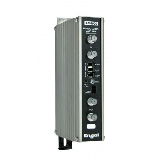 AM6001, jednokanálový zesilovač VHF k5-k12, 55dB, 125dB