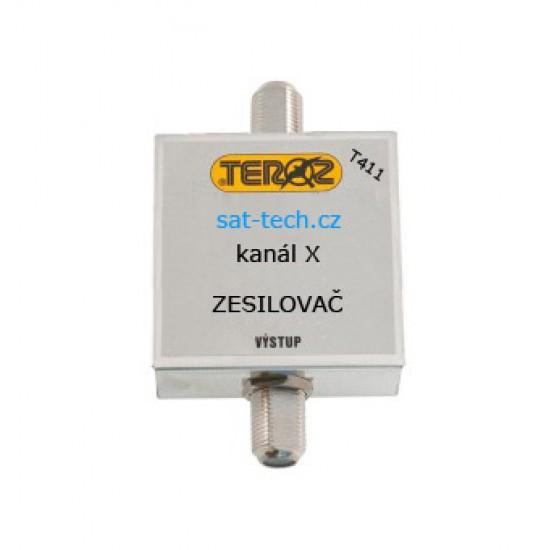 T411 zesilovač jednokanálový