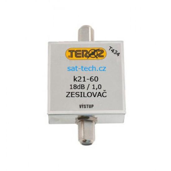 T434 zesilovač UHF, 18dB